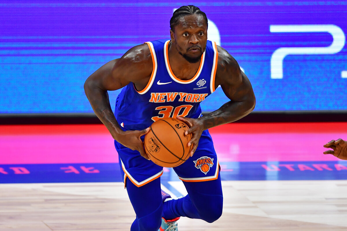 Veteran big man Julius Randle has found a home with the New York Knicks. Randle has come a long way since he lived the high life playing AAU ball.