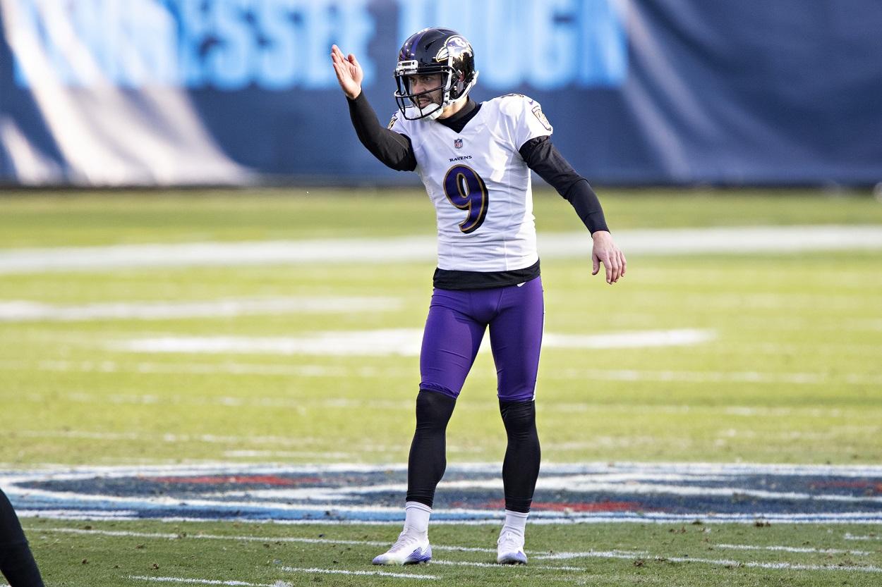 Baltimore Ravens K Justin Tucker
