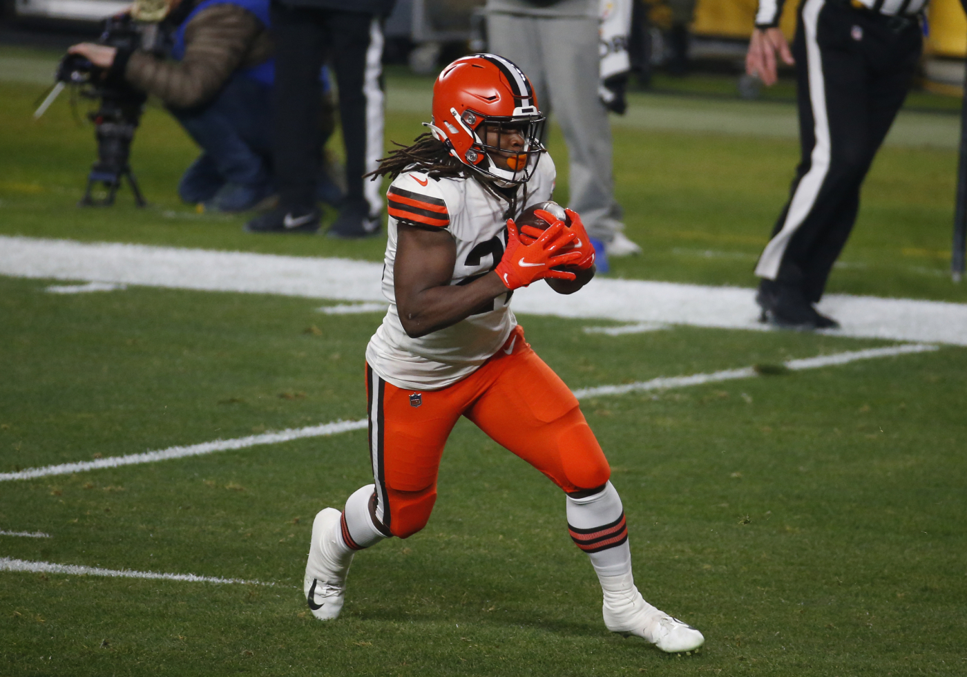 """Kareem Hunt needs some clarification about his """"it's personal"""" comment."""