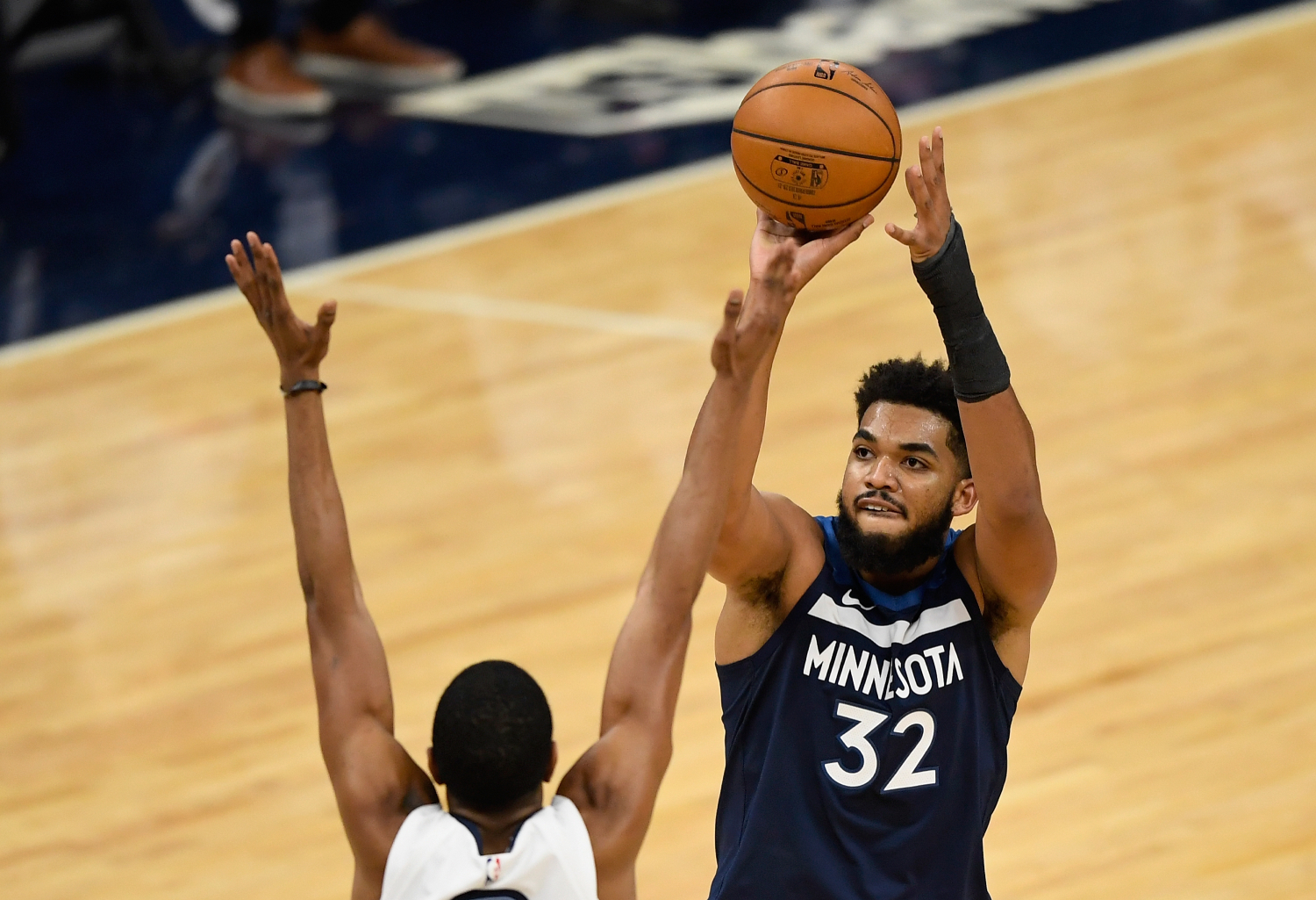 The COVID-19 nightmare for Karl-Anthony Towns continues.