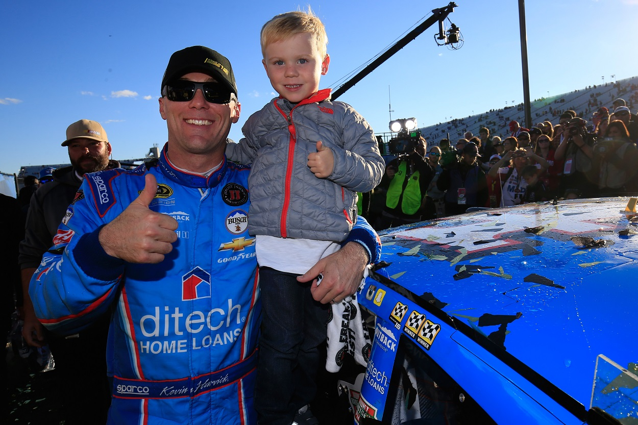 Kevin Harvick son touching NASCAR goal fuels him