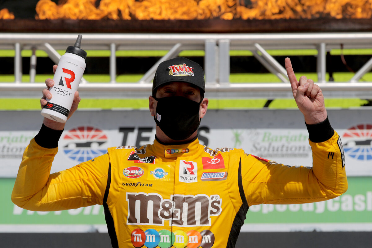 Kyle Busch has had a legendary NASCAR racing career. Busch has always had a temper, though, and other drivers have certainly taken not over the years.