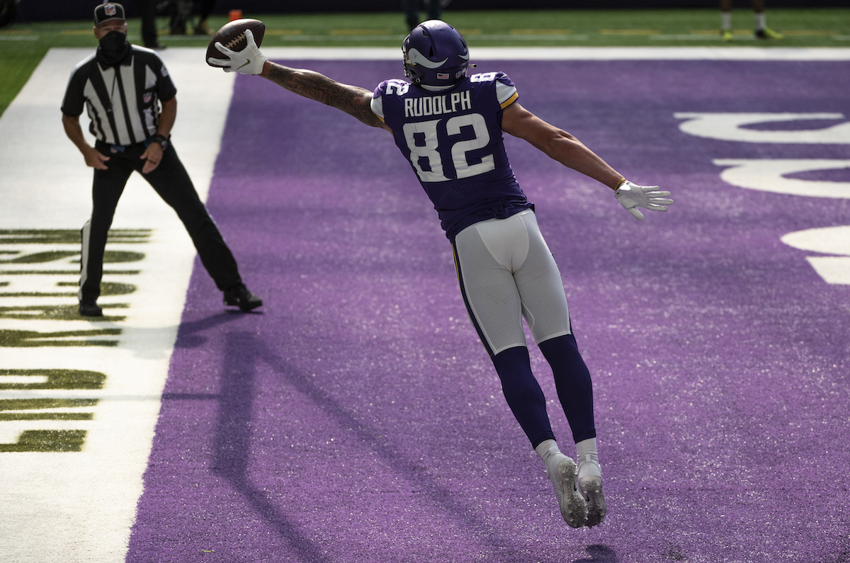 Vikings tight end Kyle Rudolph voiced his displeasure with how the Vikings used him in 2019, and sent a stern message about his contract.