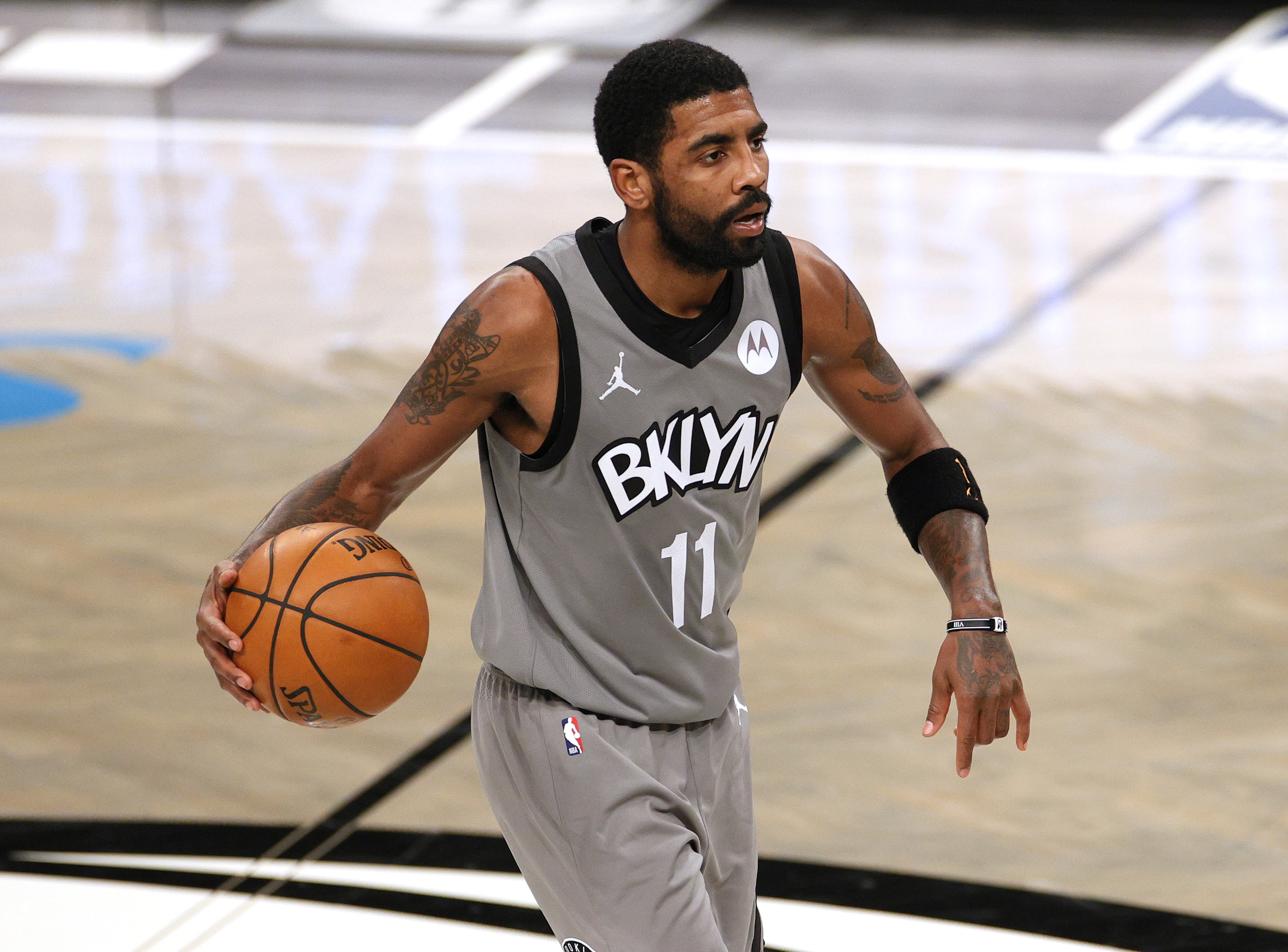 Brooklyn Nets star guard Kyrie Irving isn't getting off easy for ditching his team. Irving just gave up nearly $1 million for going AWOL.