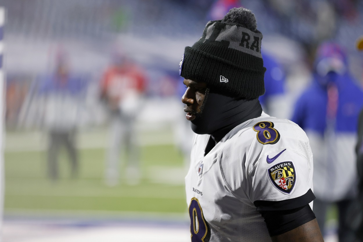 The Baltimore Ravens Are Sending Lamar Jackson an Undeniable Message After Their Playoff Loss