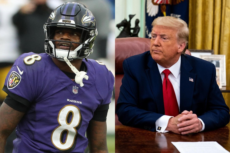 Lamar Jackson Surprisingly Calls on Donald Trump to Help His Childhood Friend