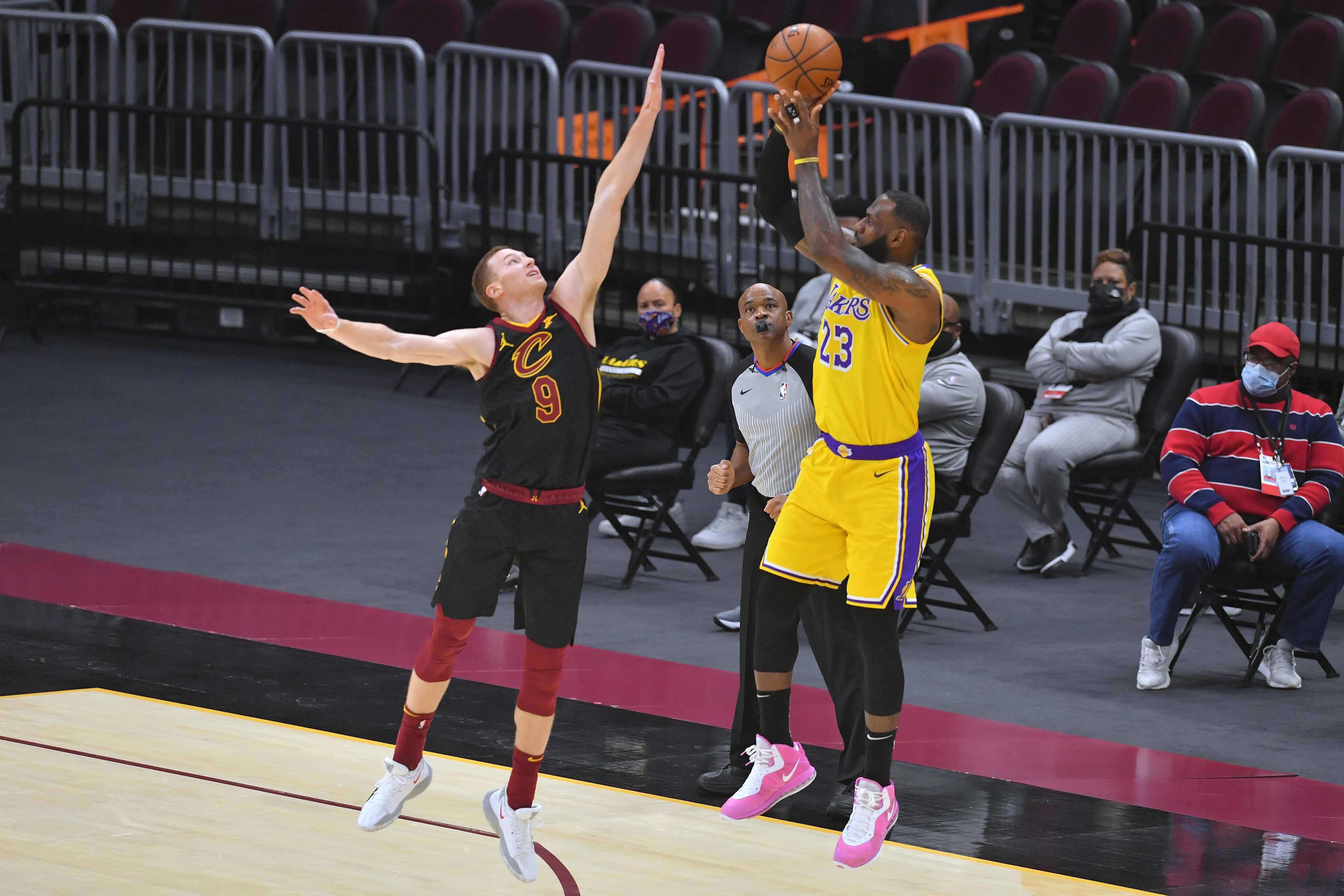 Lebron James is one of the biggest sports stars in the world, and just left one of his endorsment deals to sign with their rival.