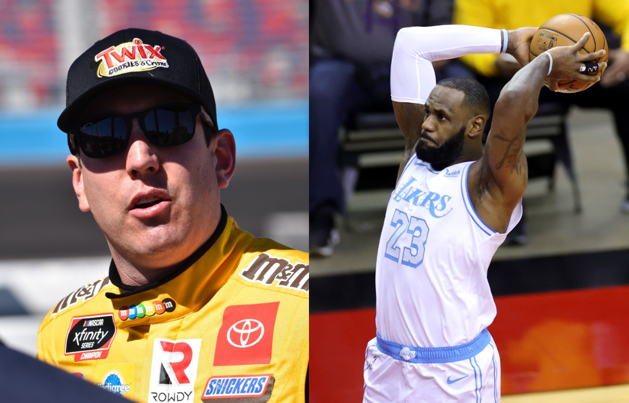 LeBron James is dedicated to basketball, but Kyle Busch believes the NBA legend could thrive in NASCAR in a career outside of racing cars.