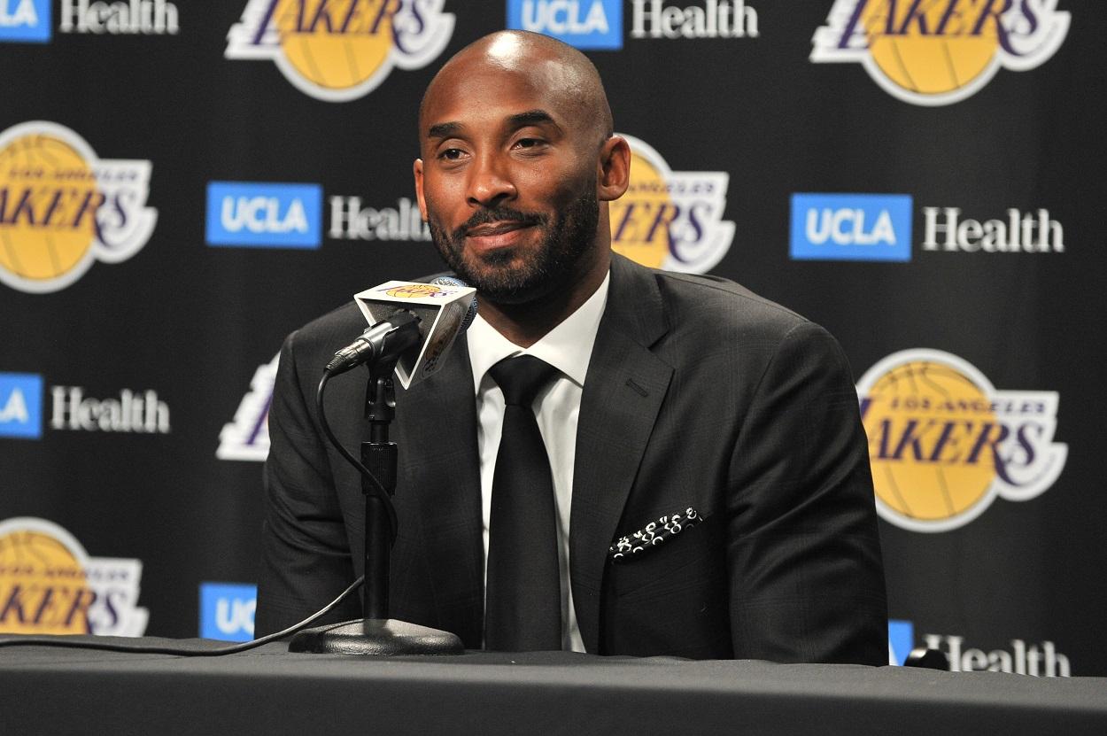 LeBron James Lakers honoring Kobe Bryant unique way