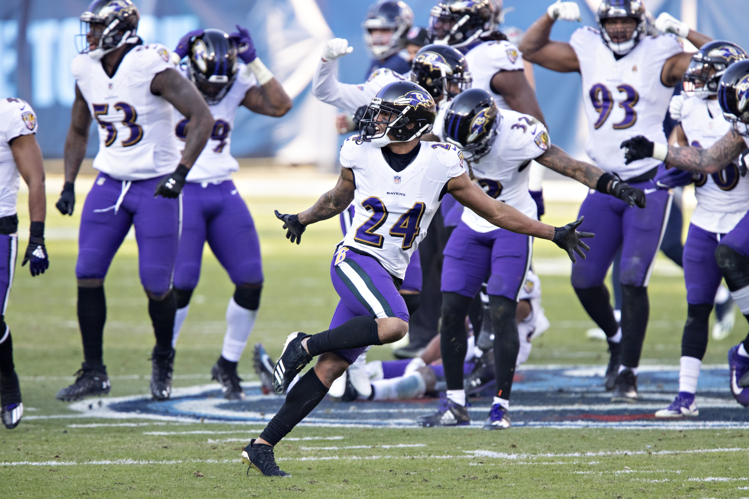 John Harbaugh Insists That Marcus Peters Has a 'Heart of Gold' Even After His Disrespectful Celebration