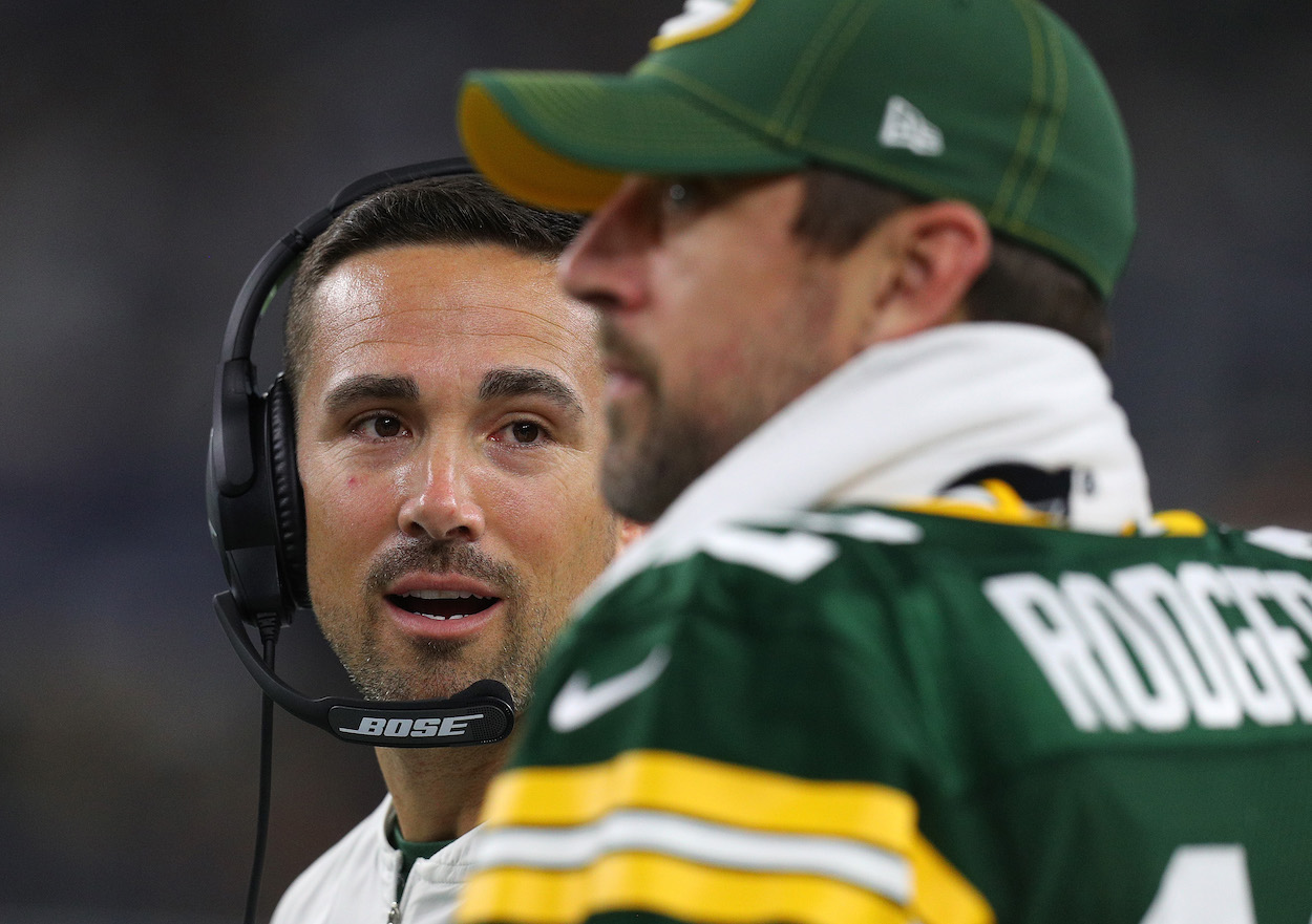 Matt LaFleur of the Green Bay Packers