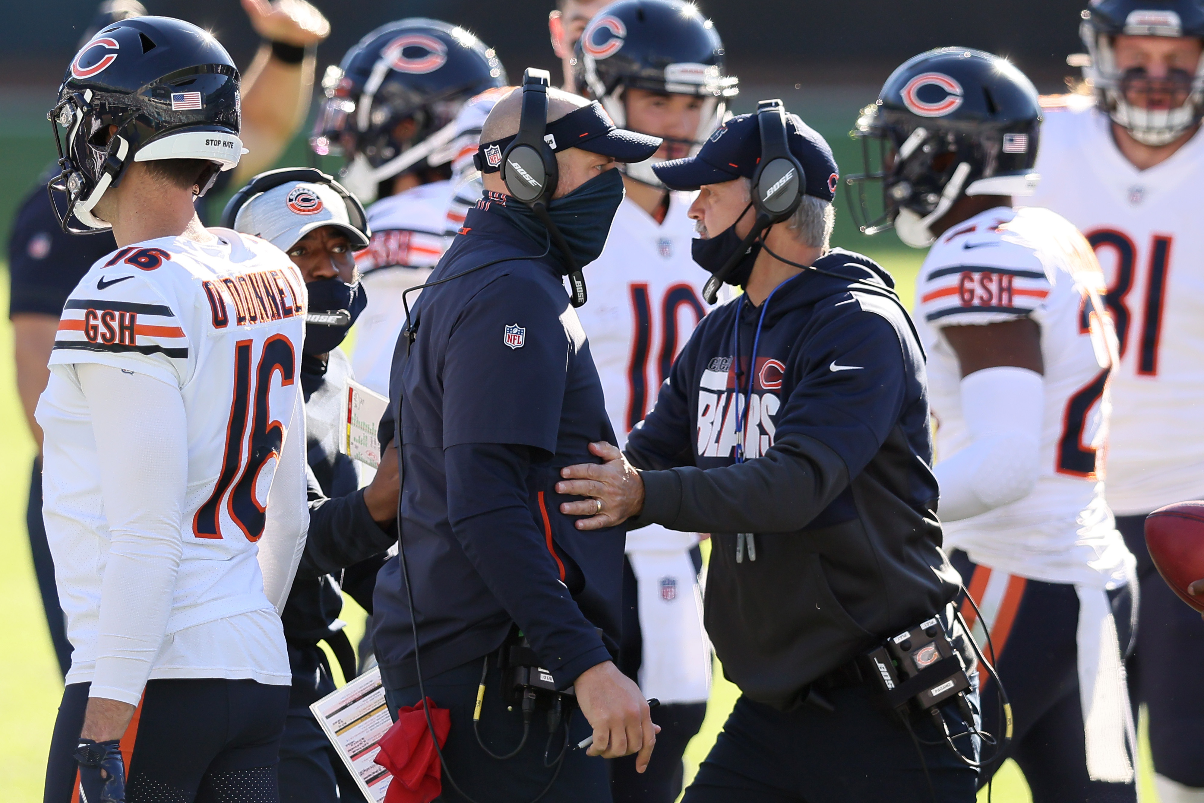 The Chicago Bears suffer a big loss on defense, but don't make the changes many people expected.