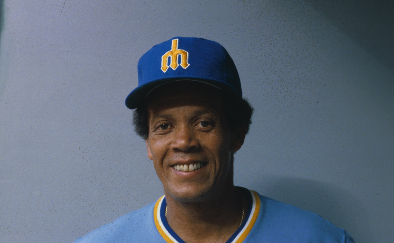 Seattle Mariners manager Maury Wills