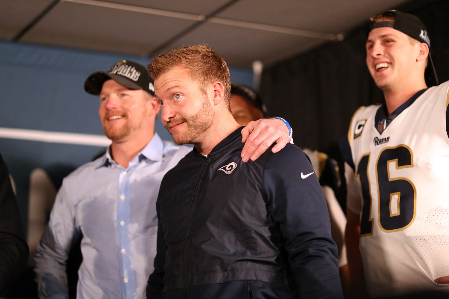 As long as the LA Rams continue to employ Les Snead as general manager, Sean McVay will never win a Super Bowl title as a head coach.