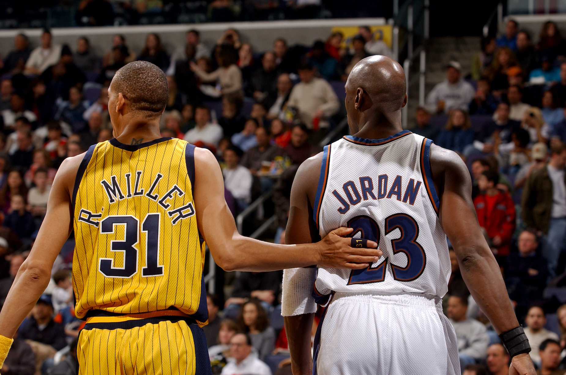 Michael Jordan couldn't stand the way that Reggie Miller played Defense.
