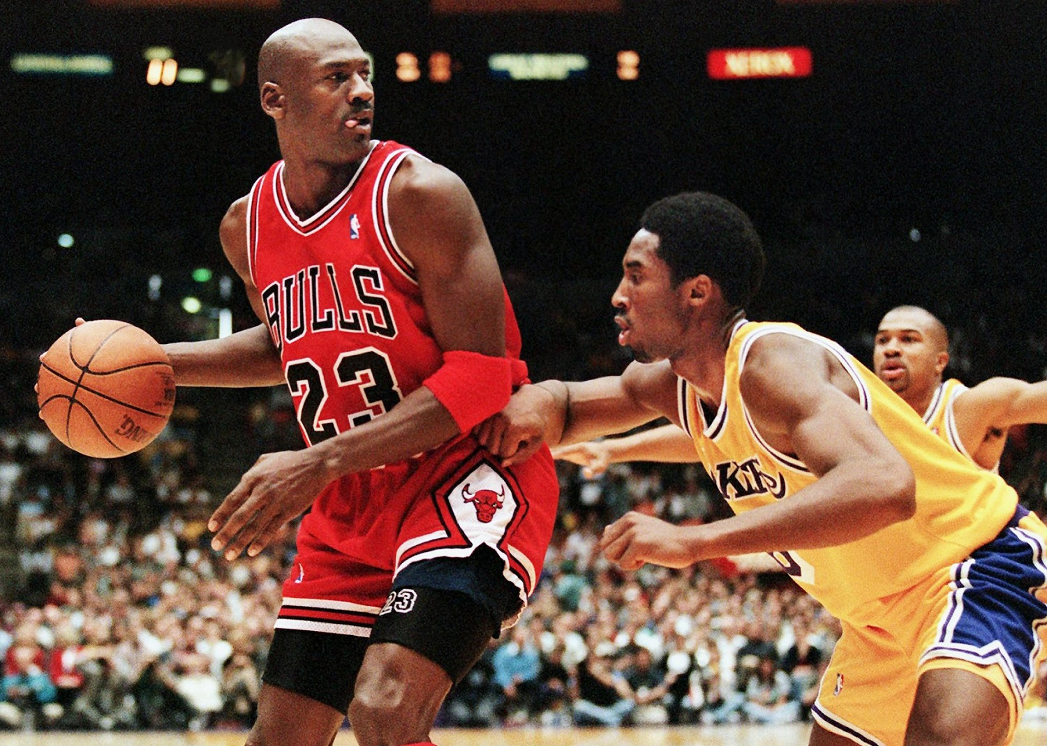 A Young Kobe Bryant Felt Insulted by Michael Jordan's Advice