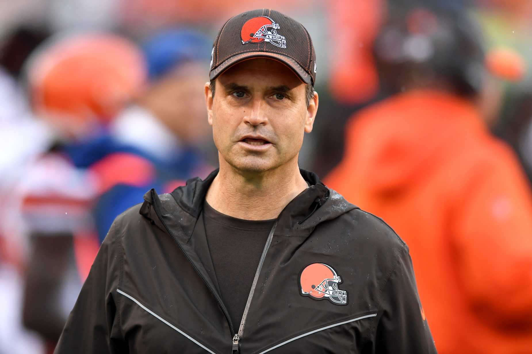 Cleveland Browns acting head coach Mike Priefer made hateful, homophobic comments during his time with the Minnesota Vikings.