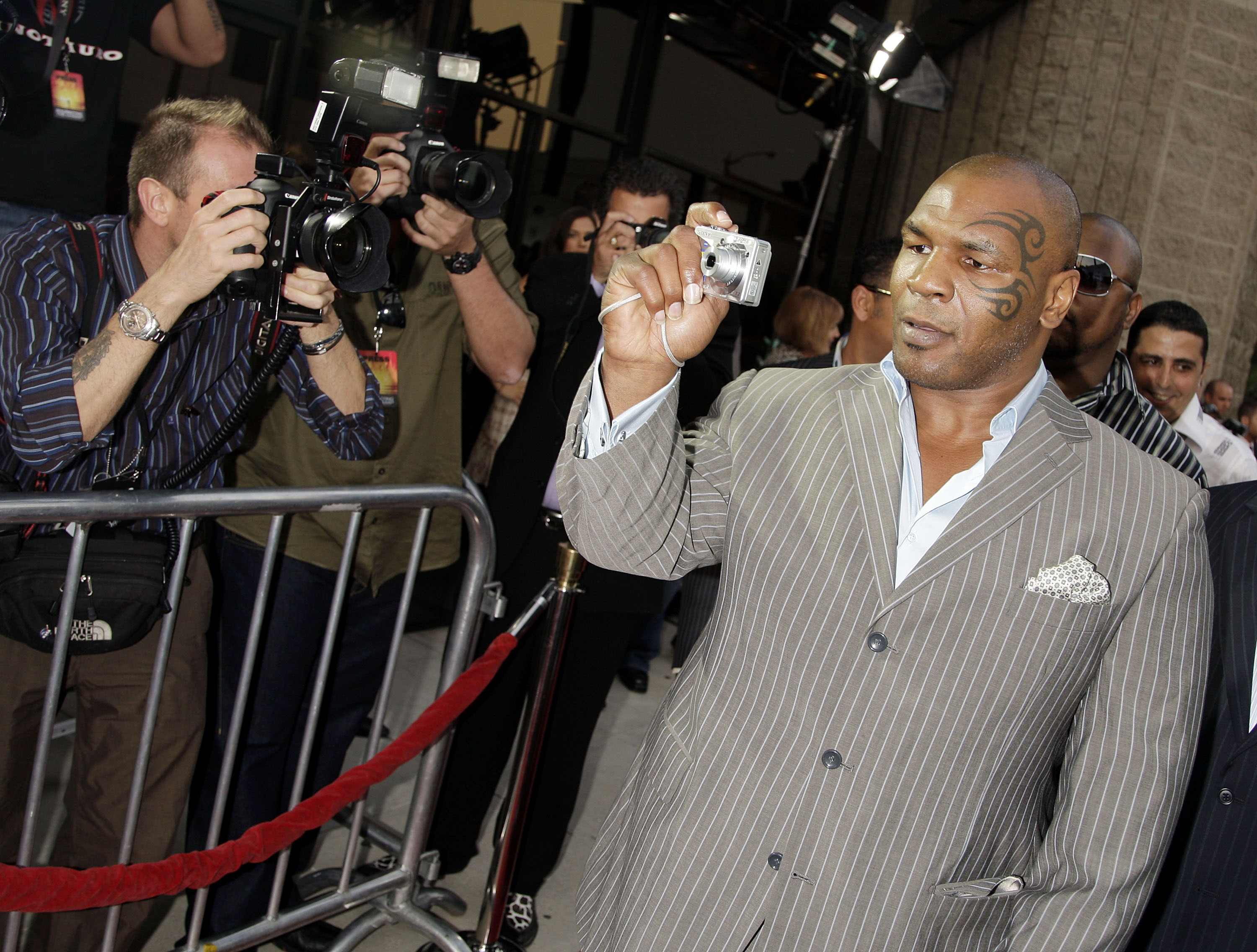 Mike Tyson no longer acknowledges 'Iron Mike.'