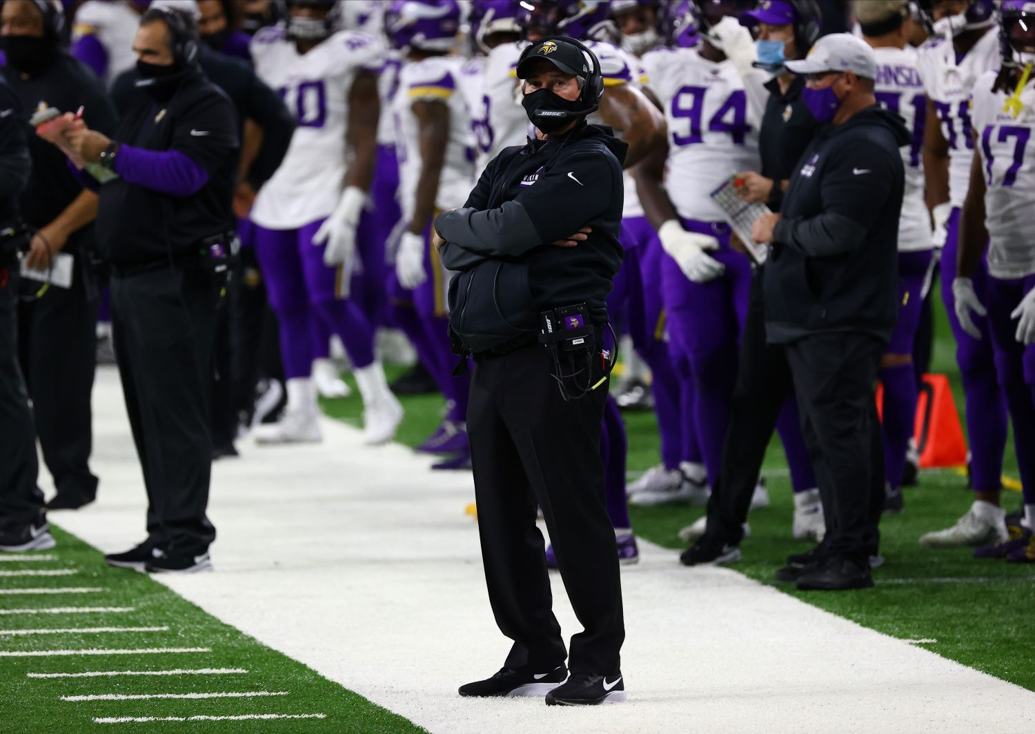 Mike Zimmer Just Suffered a Massive Setback to Saving His Job With the Minnesota Vikings