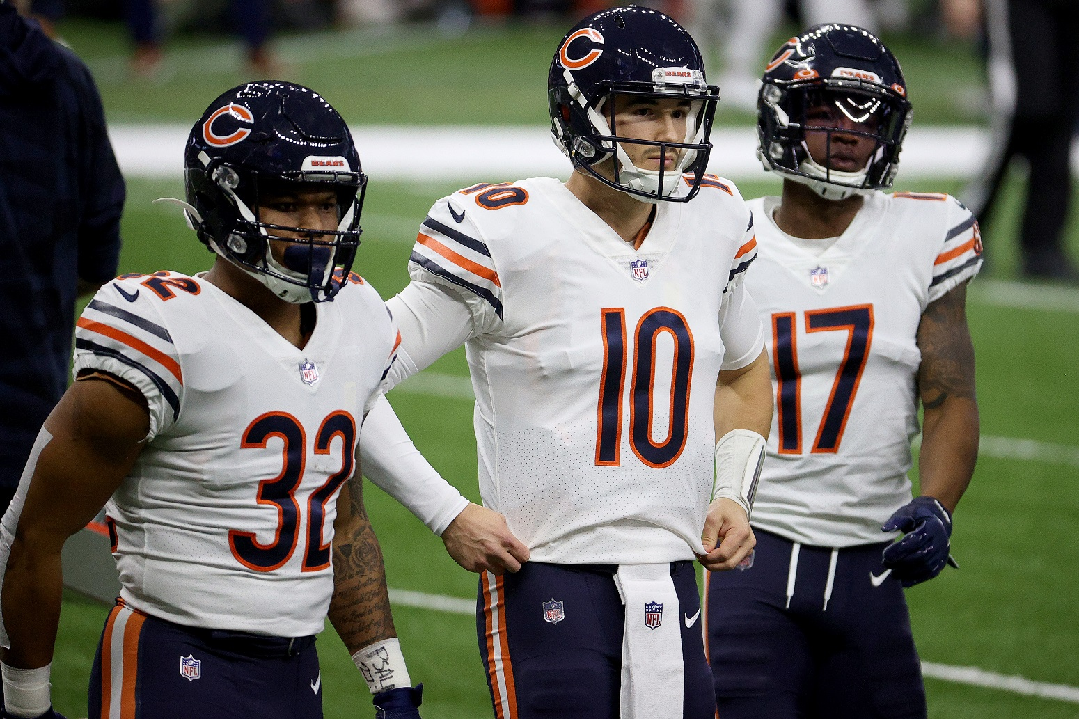 Mitchell Trubisky played last down Chicago Bears
