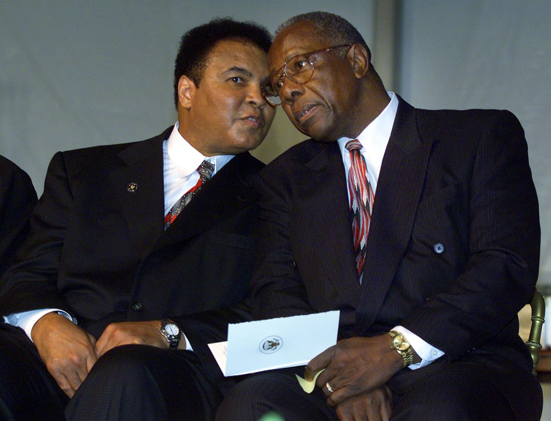 Muhammad Ali Hank Aaron
