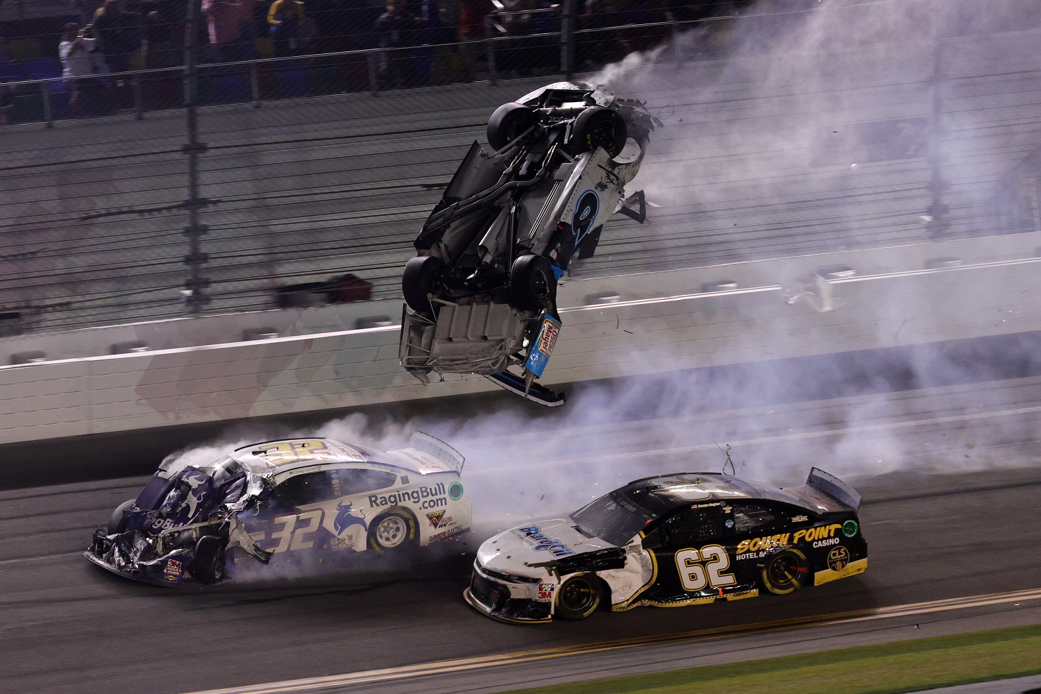 Racing 3-Wide With Austin Dillon and John Hunter Nemechek Is the Scariest Move in the NASCAR Cup Series