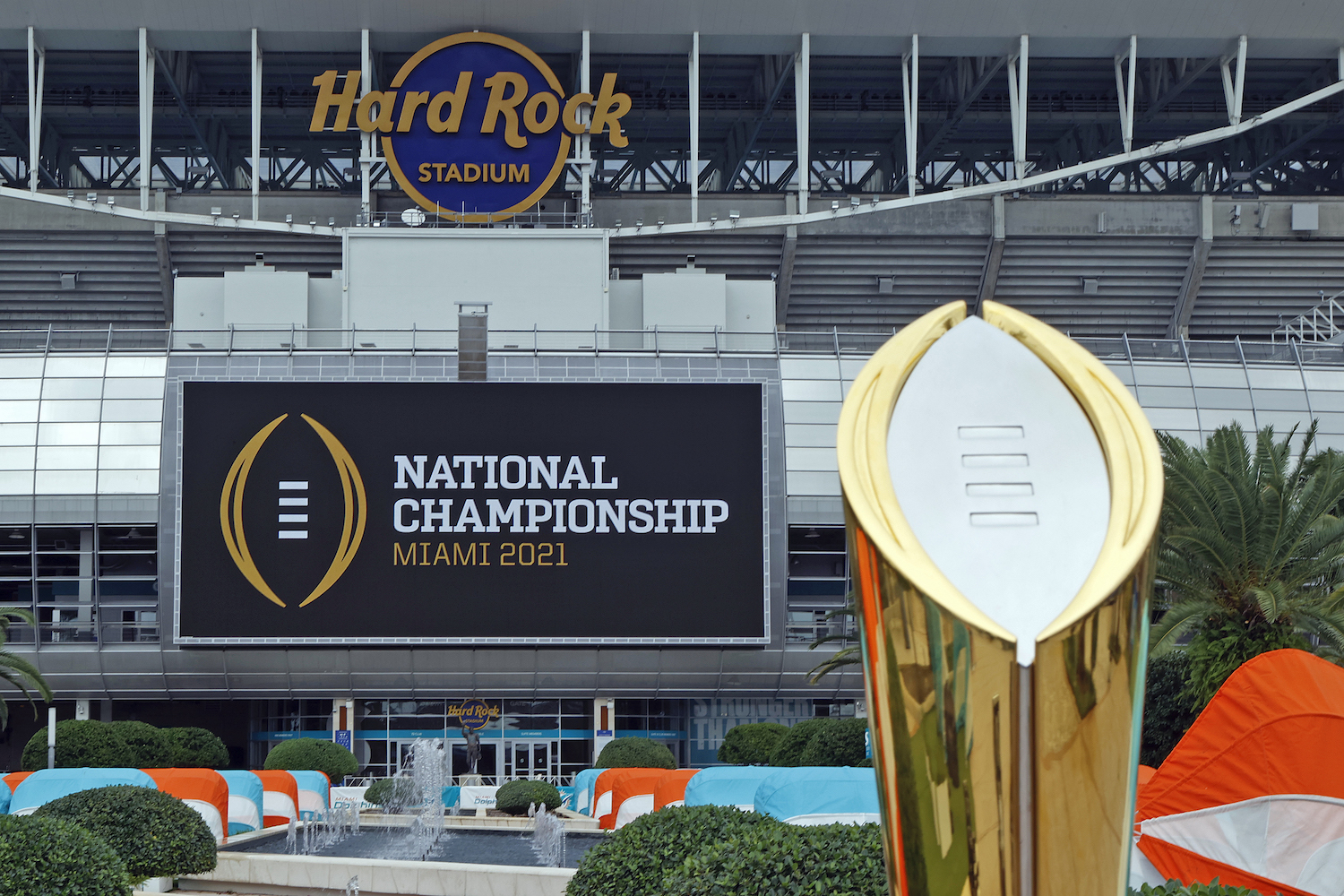 Most college football national championships.