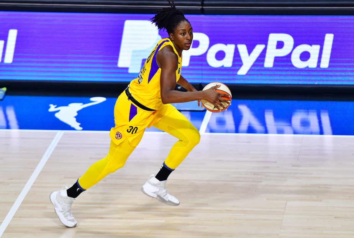 Nneka Ogwumike is a former MVP, and was the Los Angeles Sparks' top priority in free-agency.