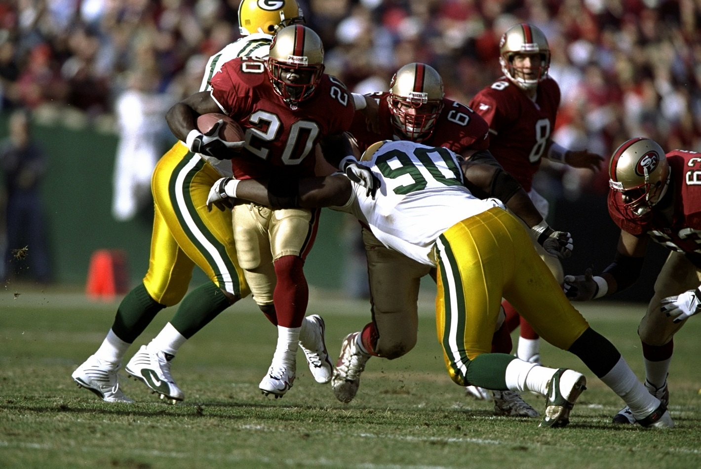 Packers-49ers 1998 NFC Wild Card Game