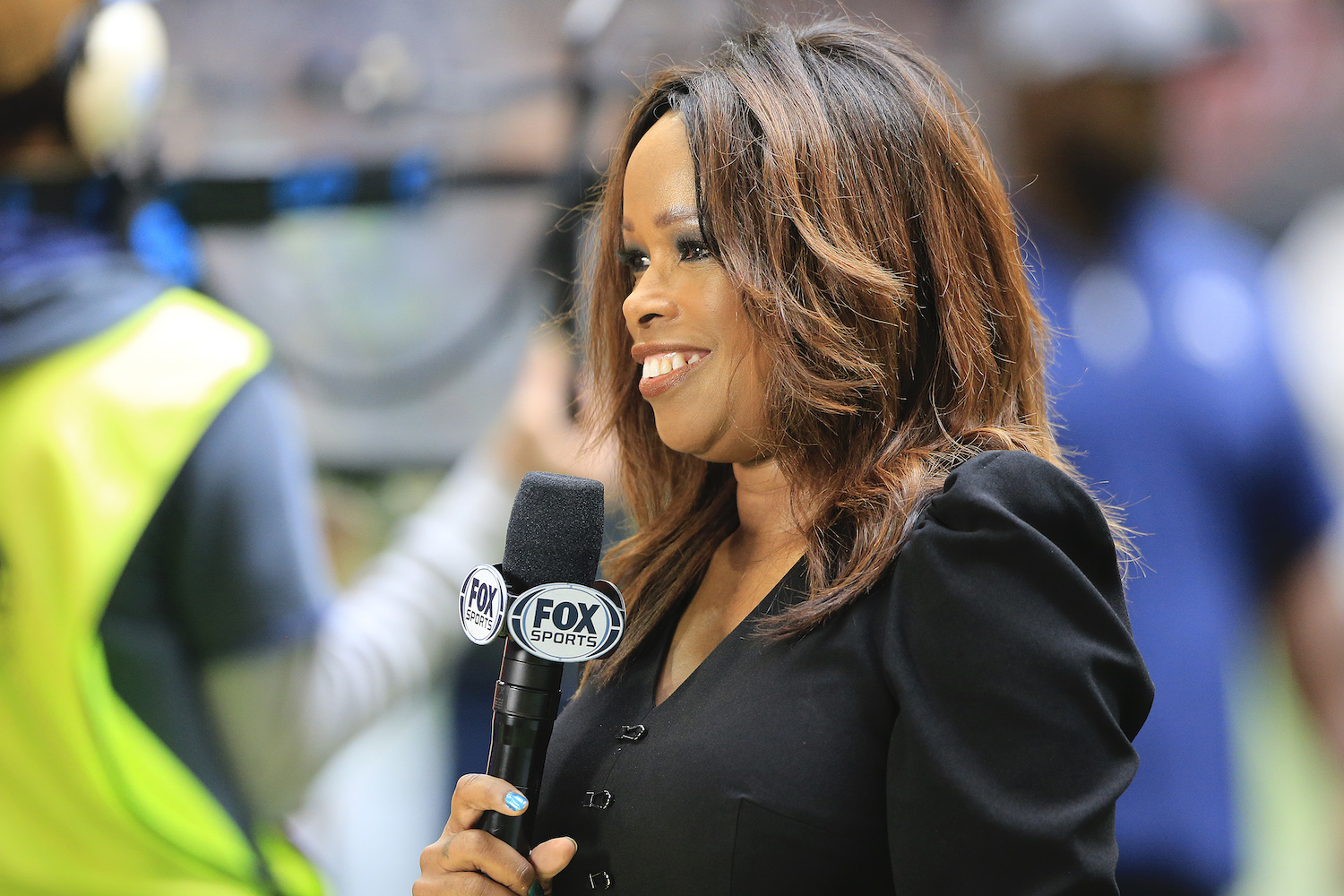 Fox Sports sideline reporter Pam Oliver