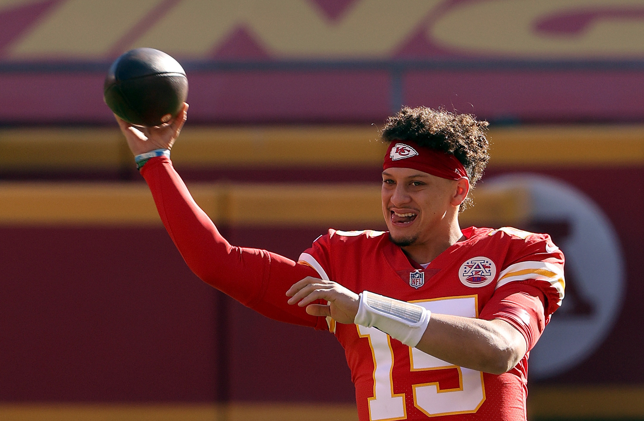 Patrick Mahomes gave a thumbs-up to a prediction made by Odell Beckham Jr.