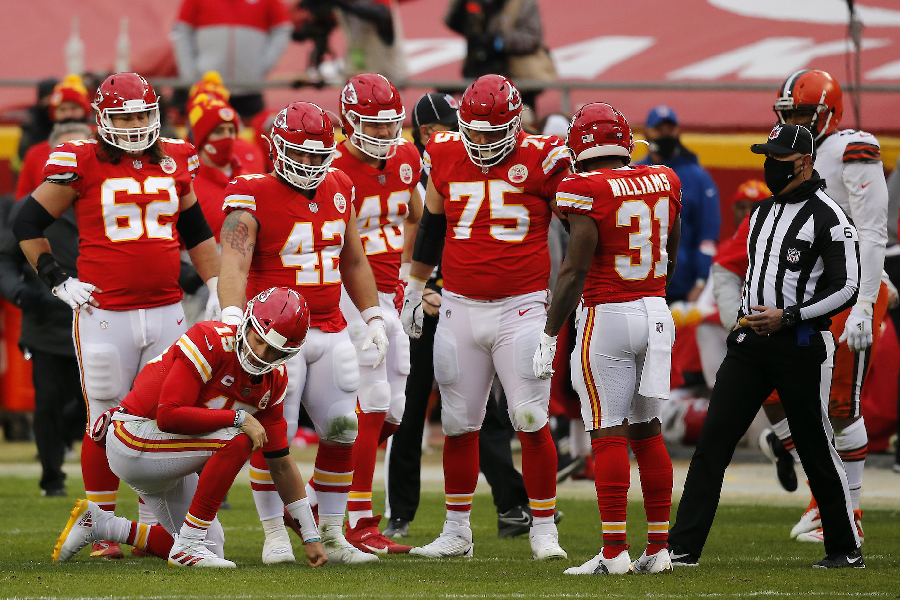 While Patrick Mahomes will steal the headlines, there was plenty of good new on the Kansas City Chiefs' injury report.