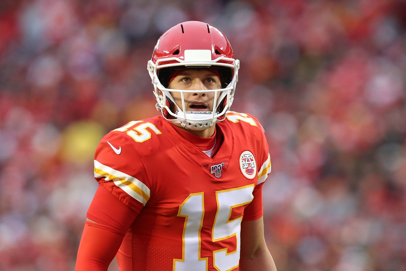 Patrick Mahomes couldn't avoid Odell Beckham Jr. trash talk Browns