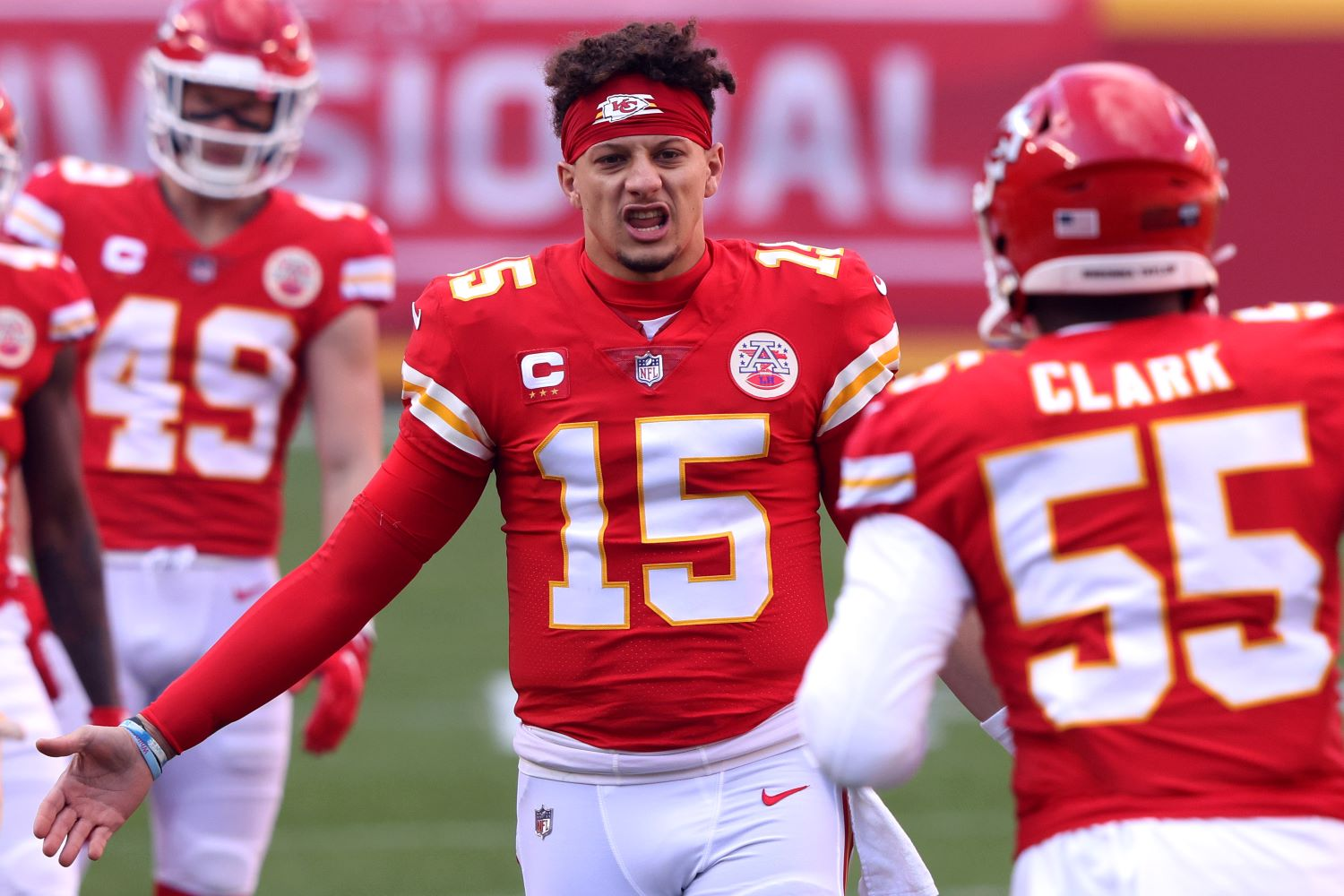 Patrick Mahomes just put all doubts to rest about his status for Sunday's AFC championship game showdown between the Chiefs and the Bills.