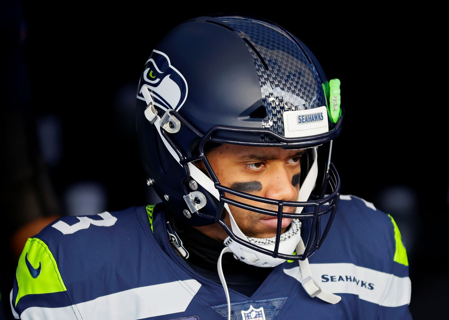 Russell Wilson should be worried about his future with the Seahawks given the team's recent committment to a GM who has lost his magic touch.