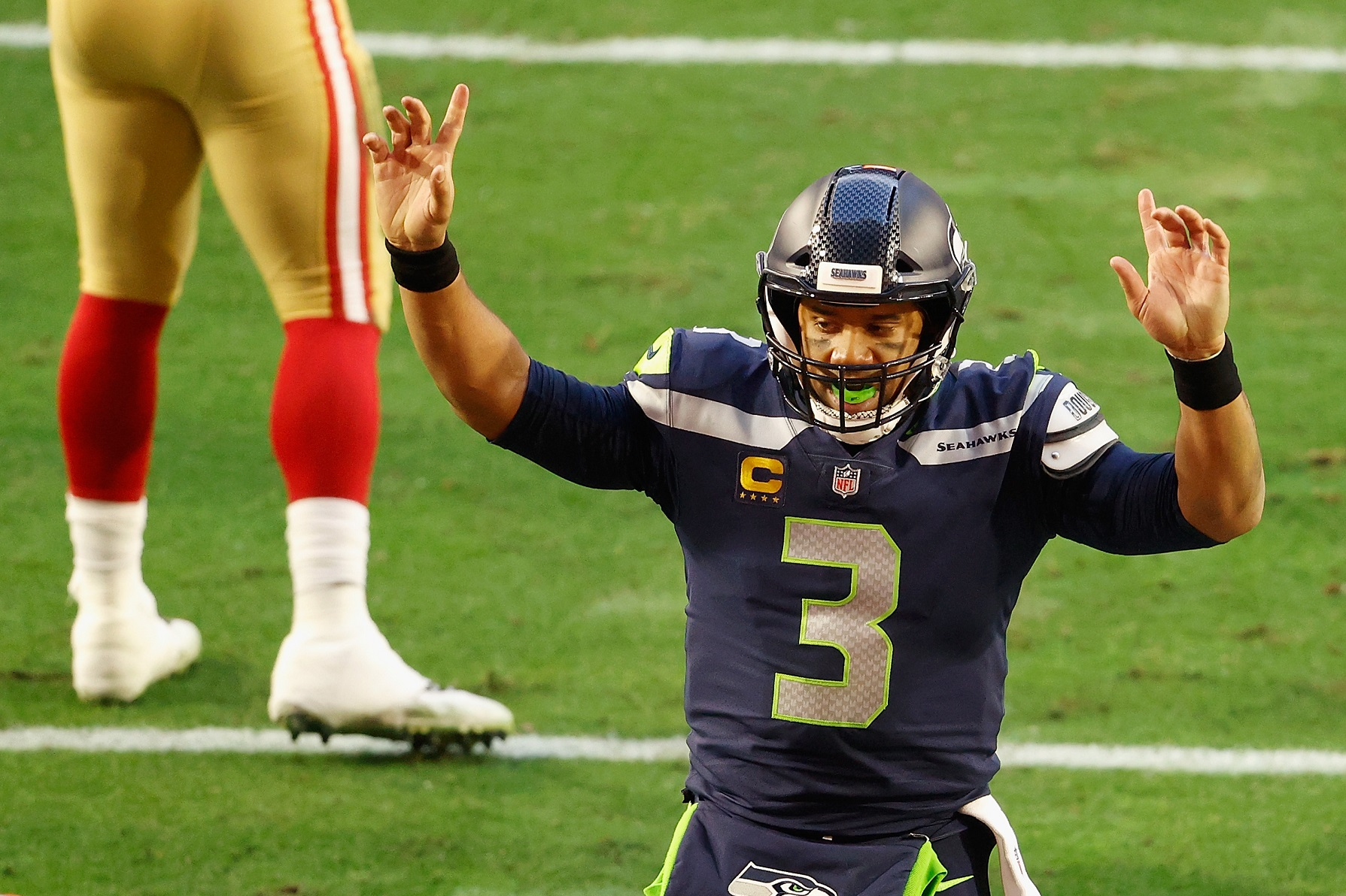 Russell Wilson Gave a $100,000 Gift To Seattle Seahawks Seventh-Round Steal David Moore