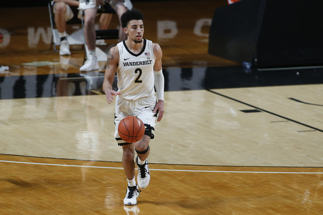 Scottie Pippen is a Chicago Bulls legend and his son, Scotty Jr., is emerging as a breakout guard for Vanderbilt's men's basketball team.