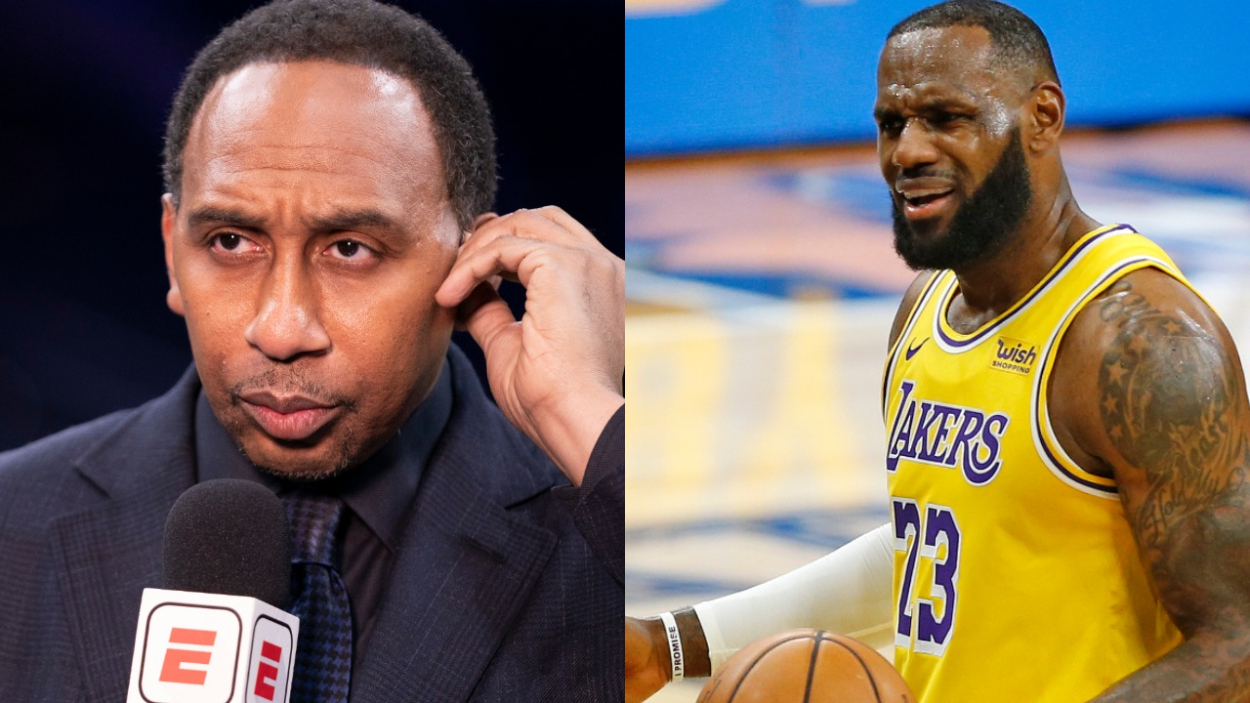 LeBron James and the Lakers continue to look like the NBA's best team. Stephen A. Smith, though, recently called James out for lying.