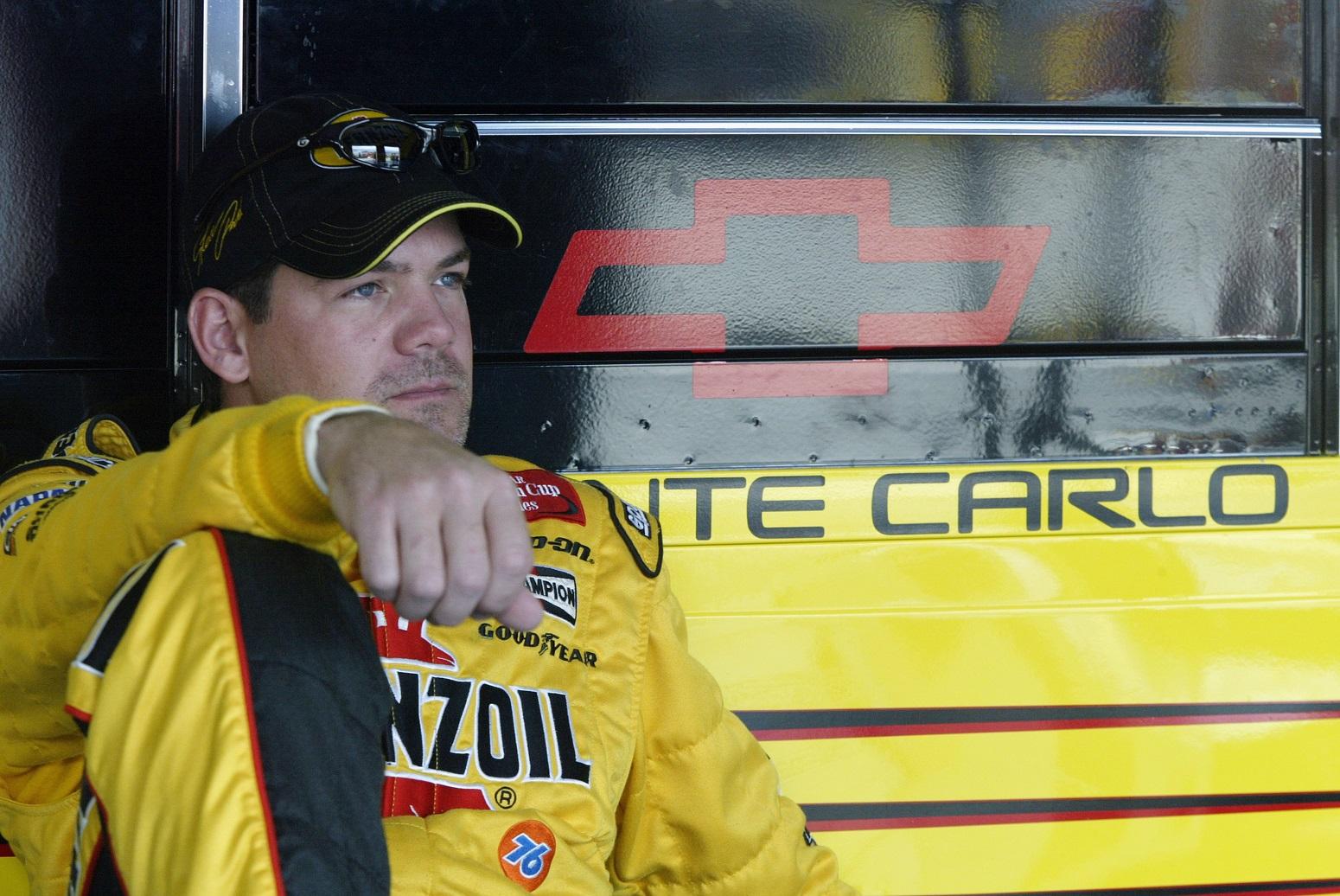 Steve Park NASCAR career derailed freak accident