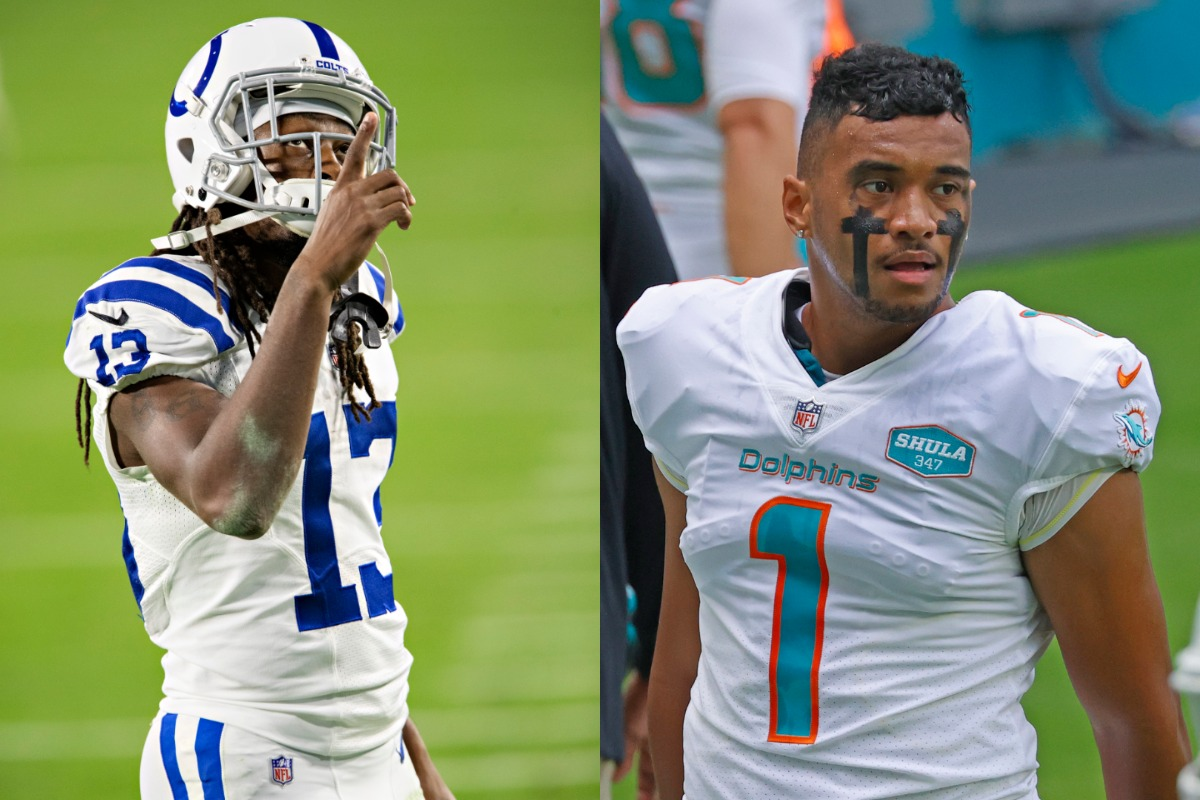 Legendary Indianapolis Colts receiver T.Y. Hilton is about to hit free agency, and he appears interested in joining Tua Tagovailoa and the Miami Dolphins.