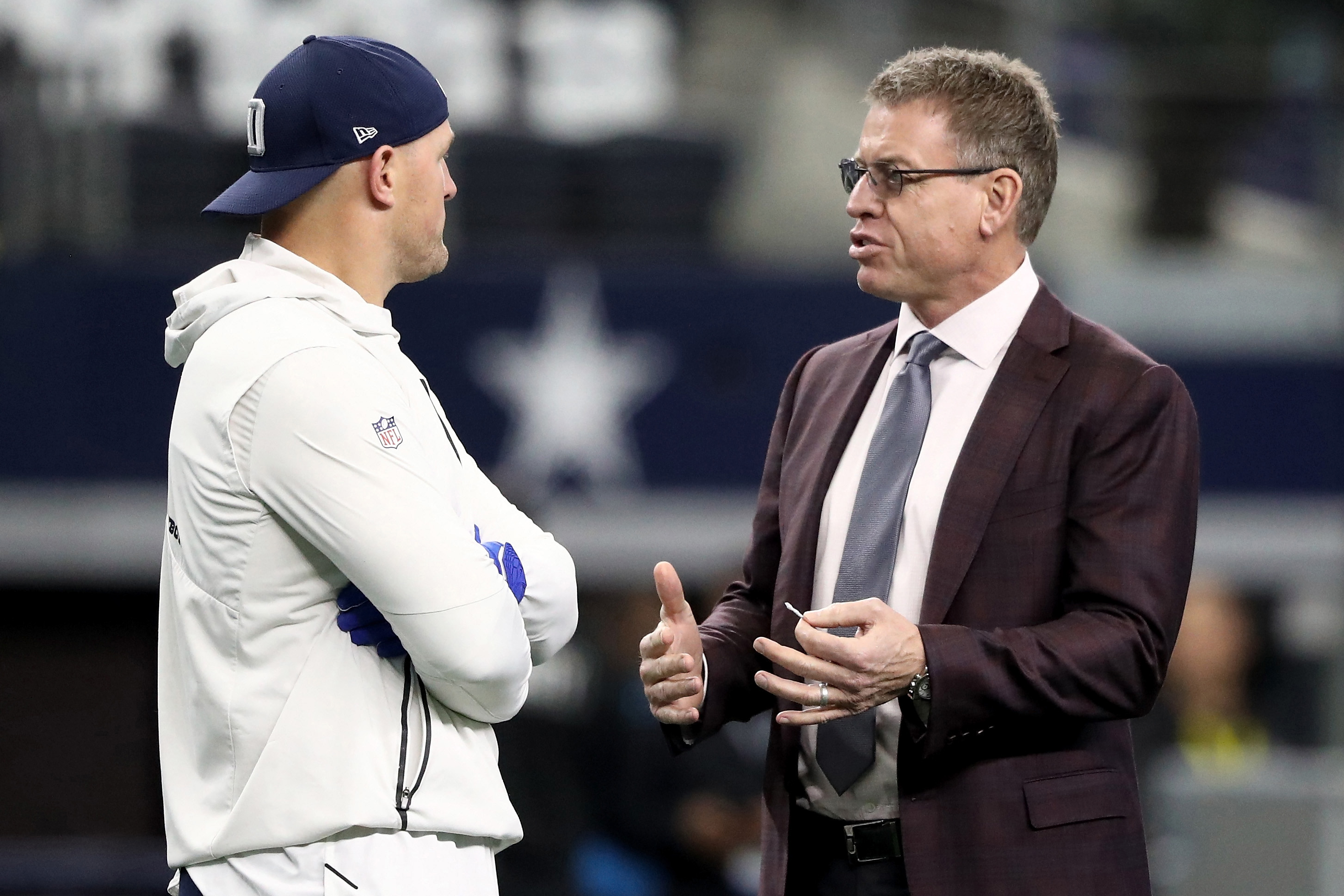 Troy Aikman's words may have been twisted.