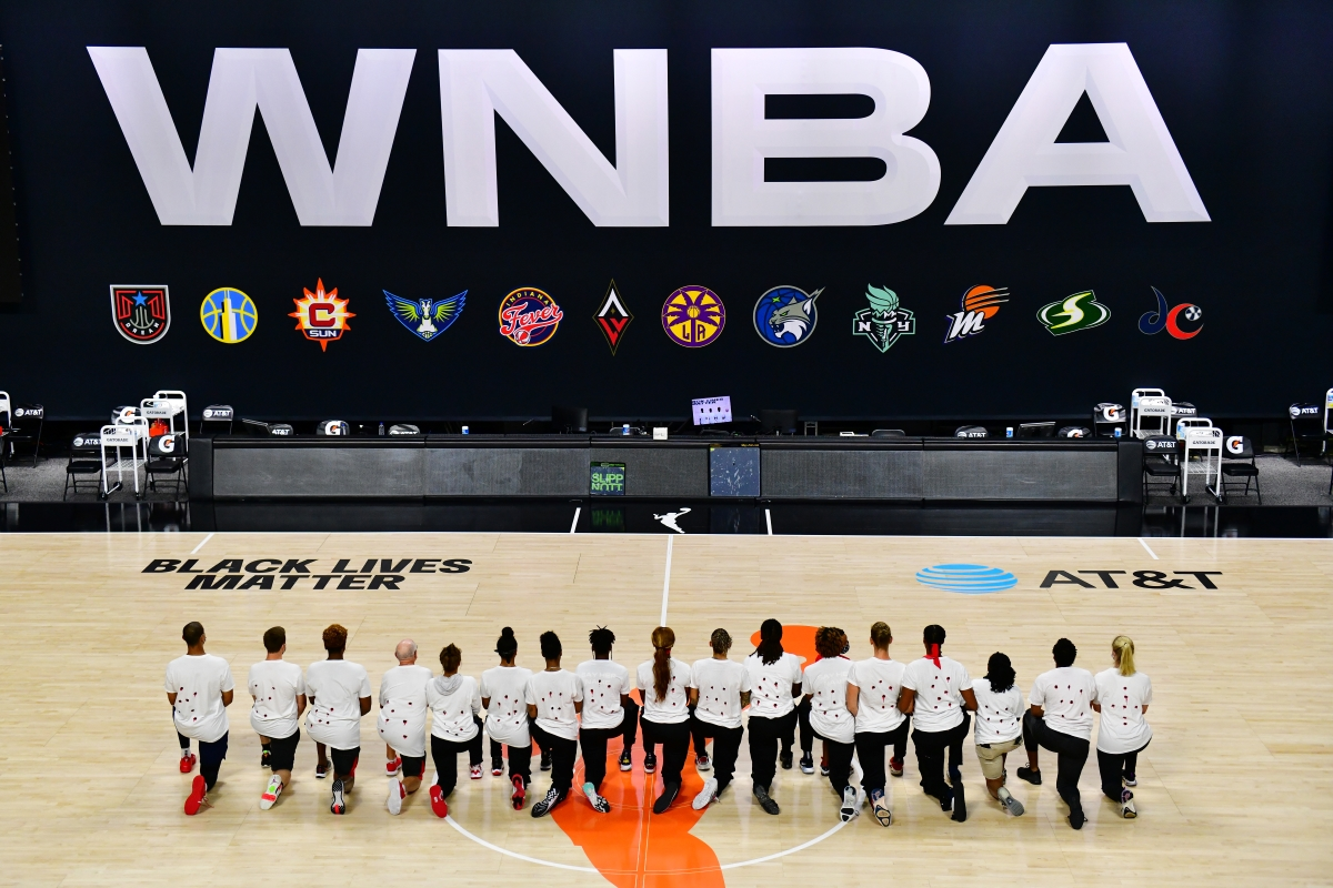 The WNBA has been at the forefront of social justice movements for a while. They also used their platform to dish out a huge political assist.