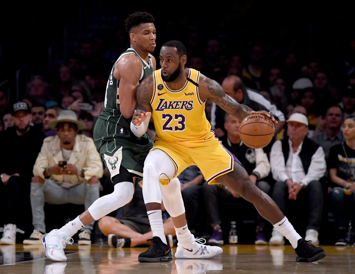 LeBron James Has Owned Giannis Antetokounmpo Since The Greek Freak Crowned Himself The King
