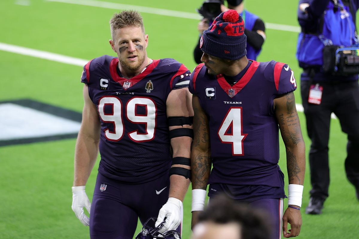 The Texans Are Set Up to Lose Deshaun Watson and JJ Watt in the Same Offseason