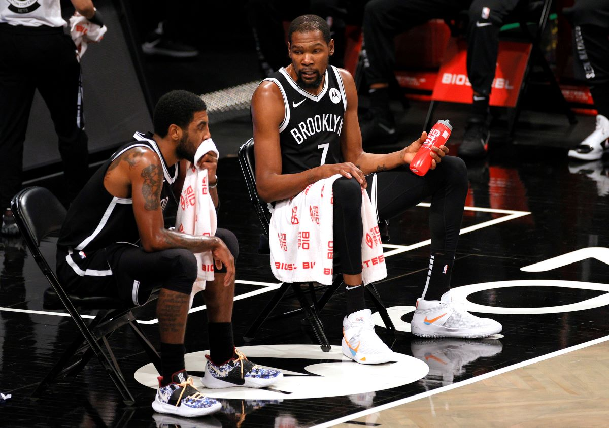 Kevin Durant, Kyrie Irving, Nets