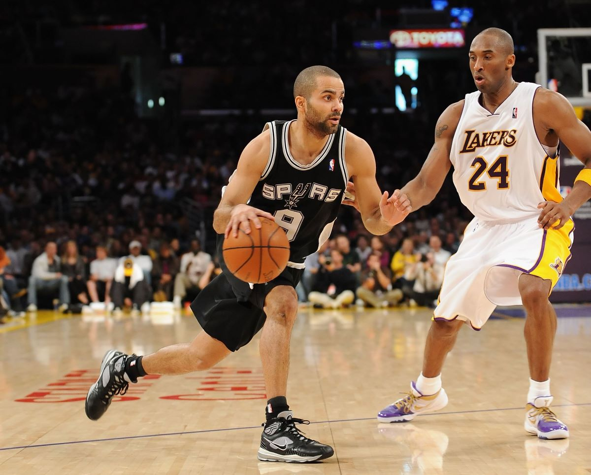 Kobe Bryant, Lakers, Spurs, Tony Parker
