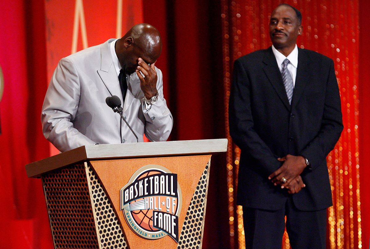 Michael Jordan, Hall of Fame, David Thompson