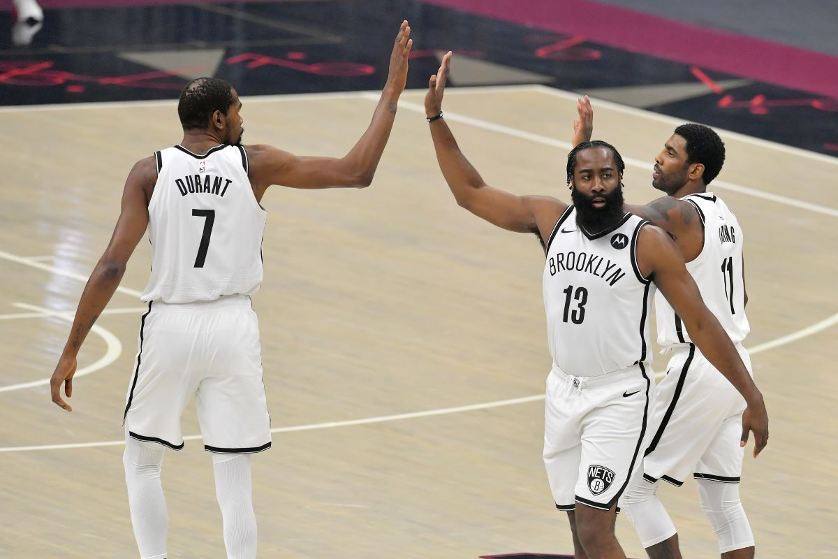 Nets, Kyrie Irving, Kevin Durant, James Harden, Cavs