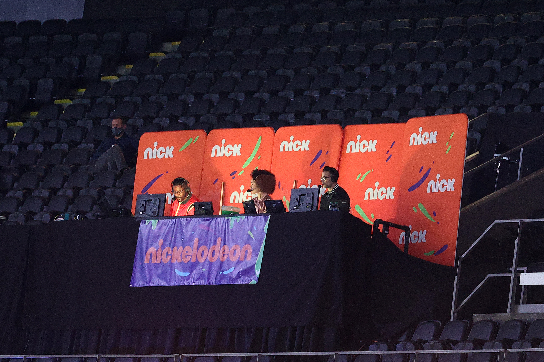 Nickelodeon's broadcast crew