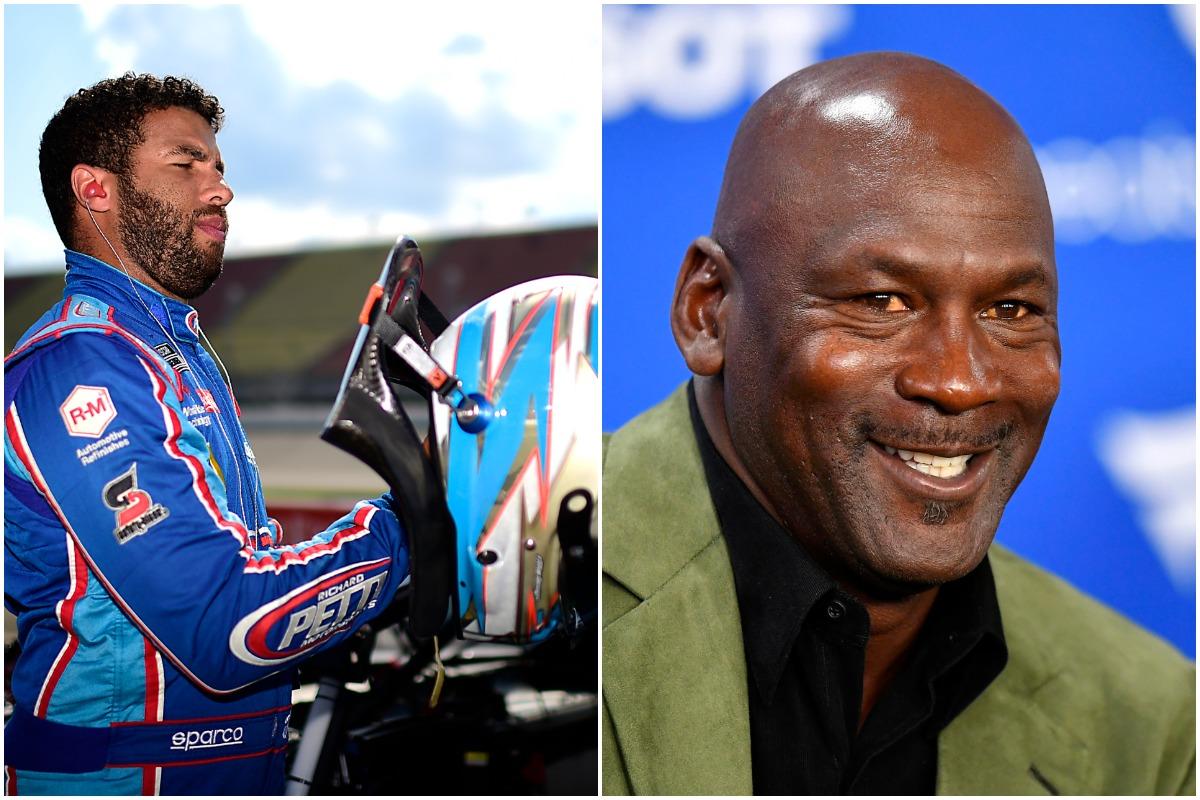 Michael Jordan, Bubba Wallace, NASCAR